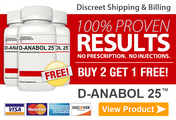 D-Anabol 25 - Buy 2 Get 1 Free