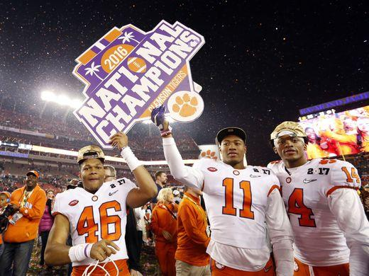Clemson Tigers Football Team Win Collegiate National Championship in Spite of Doping Suspension