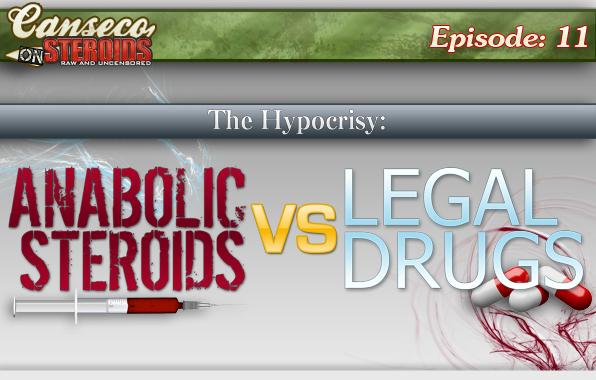 Canseco on Steroids - Hypocrisy of Illegal Steroids VS